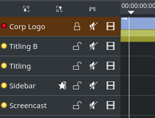 new adaptive single-line track header layout