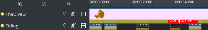 Select clips and transitions in timeline