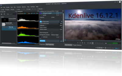 Kdenlive 16.12.1 released with Windows version