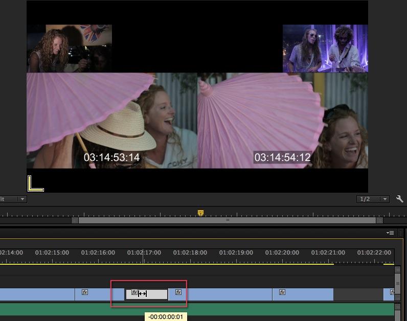 Premiere pro slip tool